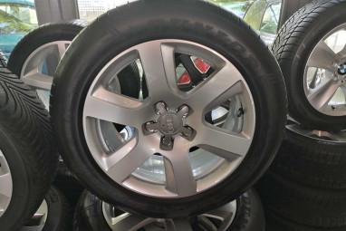 5x112 gyári Audi alufelni ÚJ Dunlop nyárigumival 17