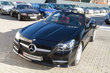 MERCEDES-BENZ SLK 350 (Automata) AMG ILS Panorama Harmann FULL