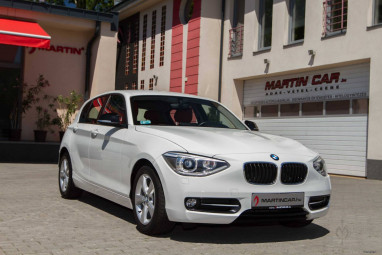BMW 120d EfficientDynamics Automata White Sport Edition!!