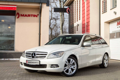 MERCEDES-BENZ C 250 T CDI BlueEFFICIENCY Avantgarde (Automata) Polar White
