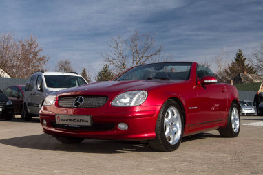 MERCEDES-BENZ SLK 200 Kompressor Burgundy Deep Red TOP VOLL ++
