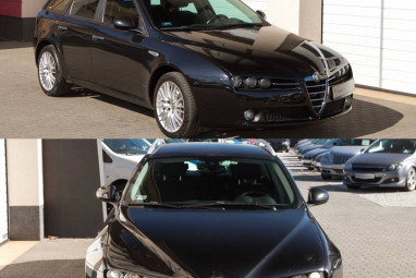 ALFA ROMEO 159 SW 1.9 JTDm 8V ECO Progression Alfa Black Edition!!