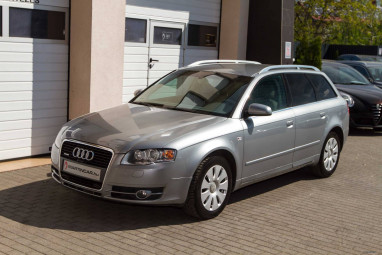 AUDI A4 Avant 3.0 V6 TDI quattro Tiptronic Monsoon Gray + Alabaster White