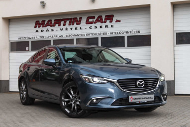MAZDA 6 2.2 CD Attraction Magyar + KM Garancia!!