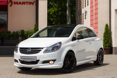 OPEL CORSA D 1.2 Cosmo Summit White IRMSCHER Edition!!