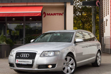 AUDI A6 Avant 3.0 V6 TDI DPF quattro Tiptronic ic Ice Silver Metallic + Valcona Leather!!