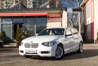 BMW 116d Alpin White + Hexagon Black Edition ++ FULL Service ++