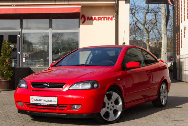 OPEL ASTRA G Coupe 2.2 16V Bertone Linea Rossa Power Red Edition!!