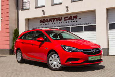 OPEL ASTRA K Sports Tourer 1.6 CDTI Start-Stop Enjoy Vezetett szervizkönyv + Power Red Edition++