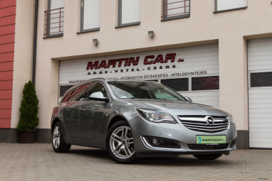 OPEL INSIGNIA Sports Tourer 2.0 CDTI Edition (Automata) Sovereign Silver ++ Mint az Új ++